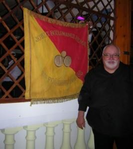 Drapeau et Président de l' Association des Boulomanes Hyèrois