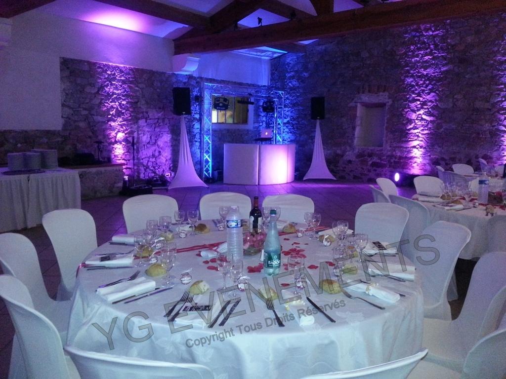 Decoration Table D Honneur Mariage : Vin d honneur et décoration lumineuse mariage